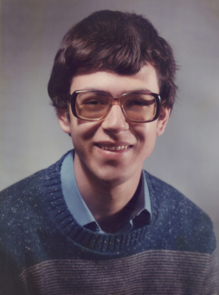 The author when a student at Berea College (yes, he's changed a bit since then!!)