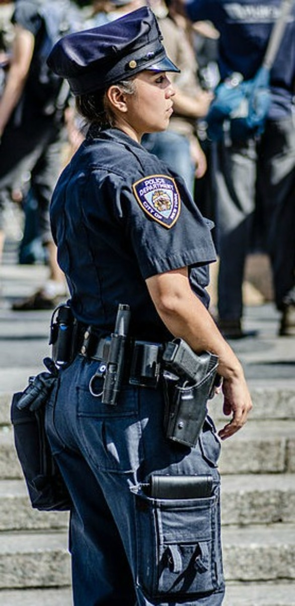 Female NYPD Police Officer