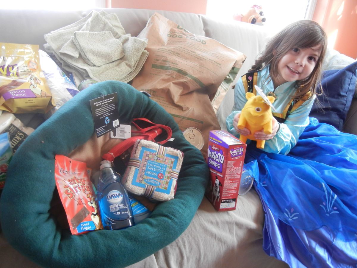 Instead of birthday presents, this girl scout asked friends for ASPCA donations