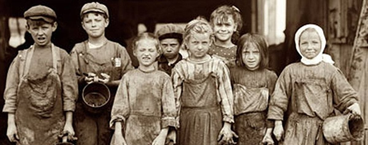 Poverty Stricken Victorian Children