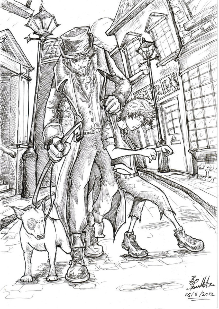 """Oliver Twist Fan Art"" by JuJu-Madness.  juju-madness.deviantart.com"
