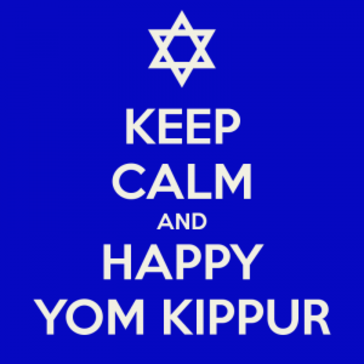 Yom Kippur is the most holy day in the Jewish calendar, in which Jews fast and pray to atone for their sins and prepare for a fresh start in the New Year.