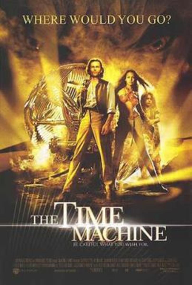 Theatrical Poster for The Time Machine (2002).