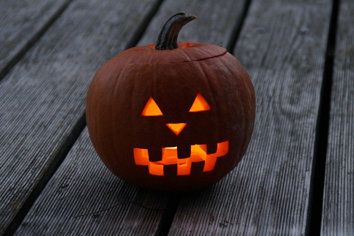 The first Jack O Lanterns were made of turnips, not pumpkins.