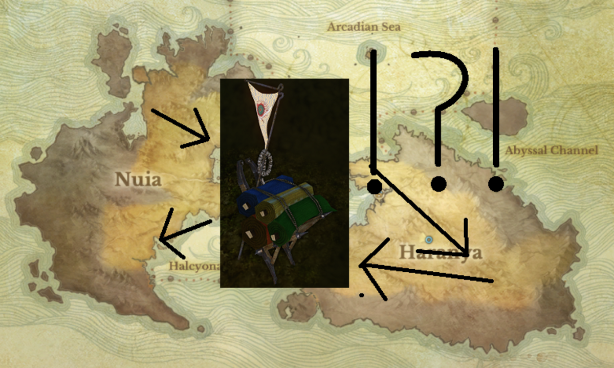 ArcheAge trade route guide: all domestic and intercontinental routes