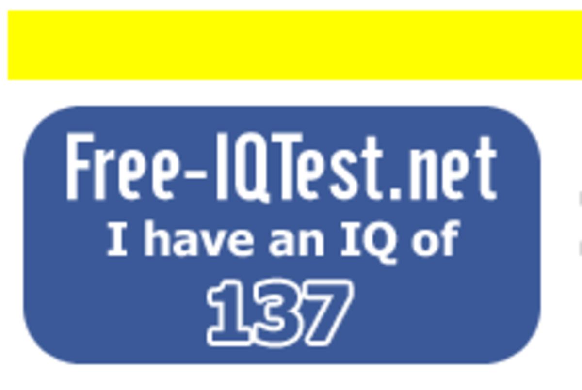 clive williams IQ test result