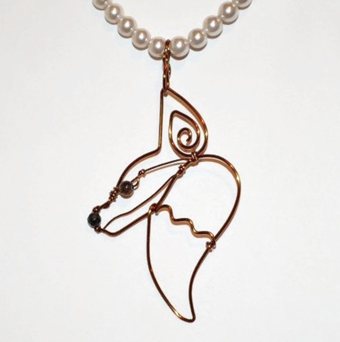 Free tutorial, learn how to make this wire work fox pendant