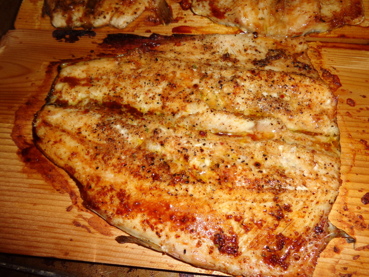 Grilled Plank Trout Recipe