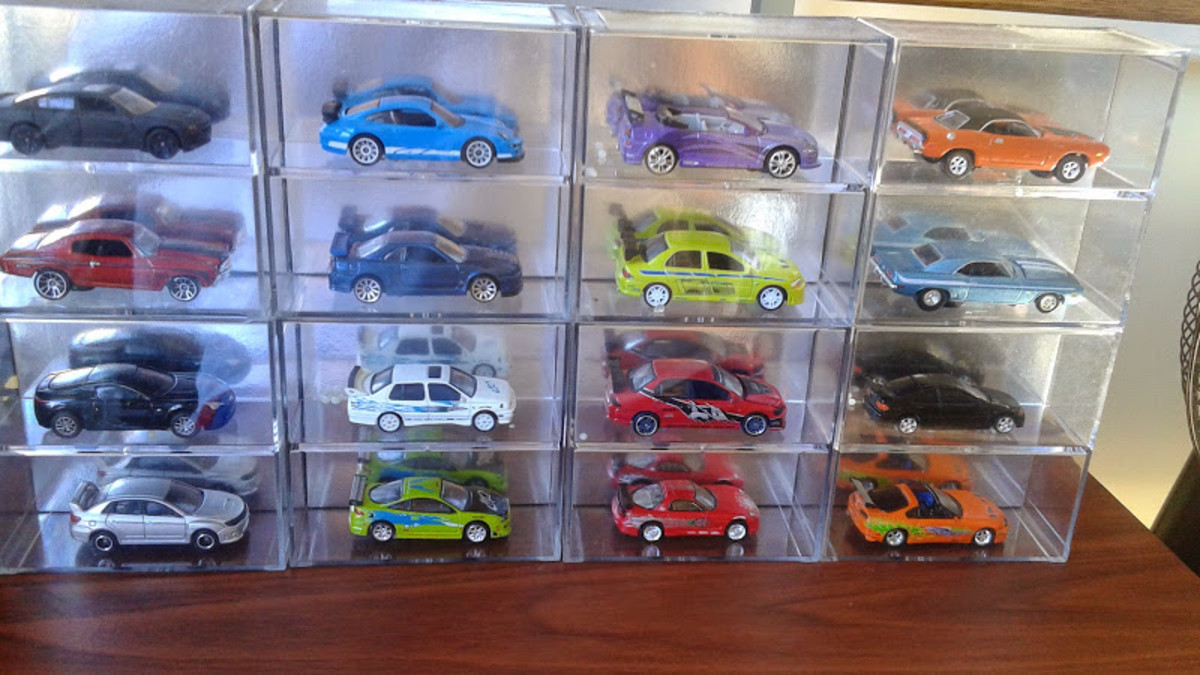 Fast And Furious Diecast Cars