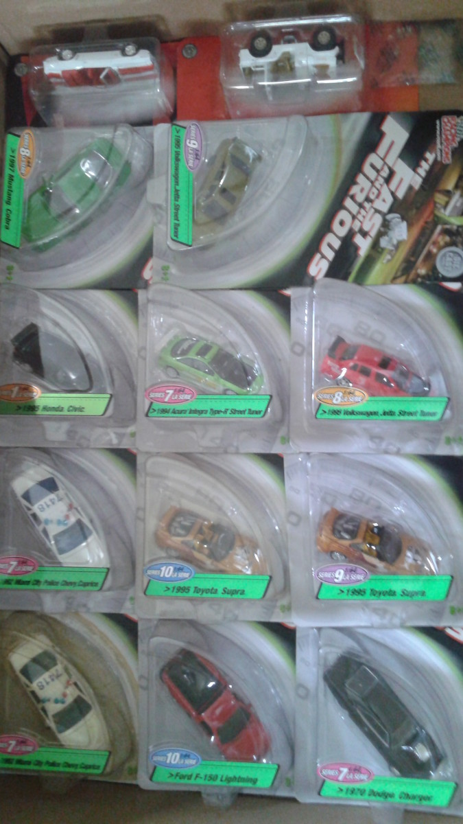 Assorted Racing Champions Fast and Furious diecast. Please note that all photos showcased here are borrowed from provided link and with permission from the owner.