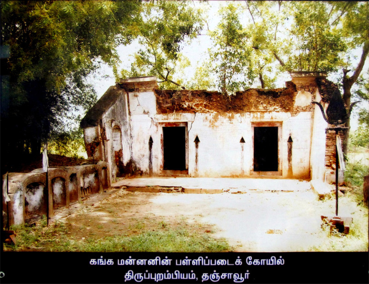 Thirupurambiyam Sepulchre temple or Pallipadai