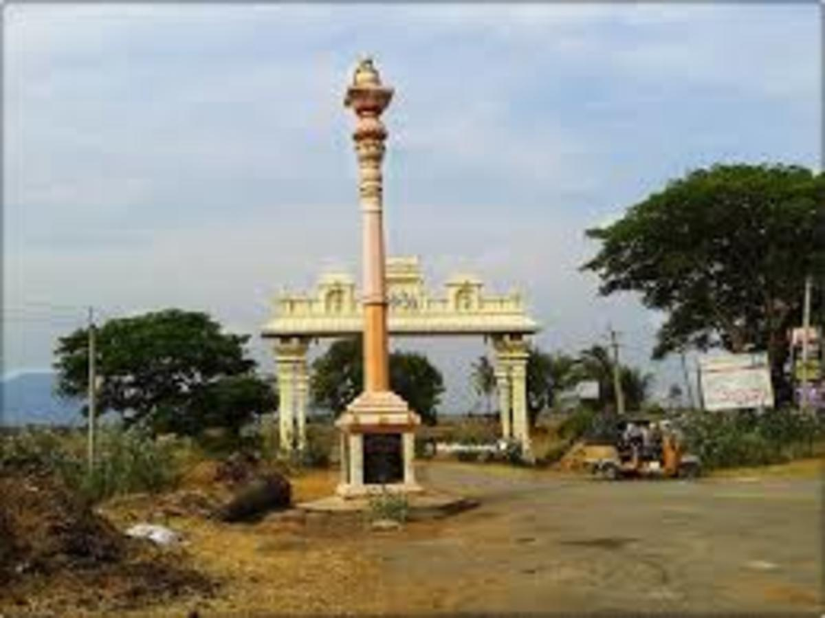 Sepulchre temple or Pallipadai of Aditya Chola near Kalahasti