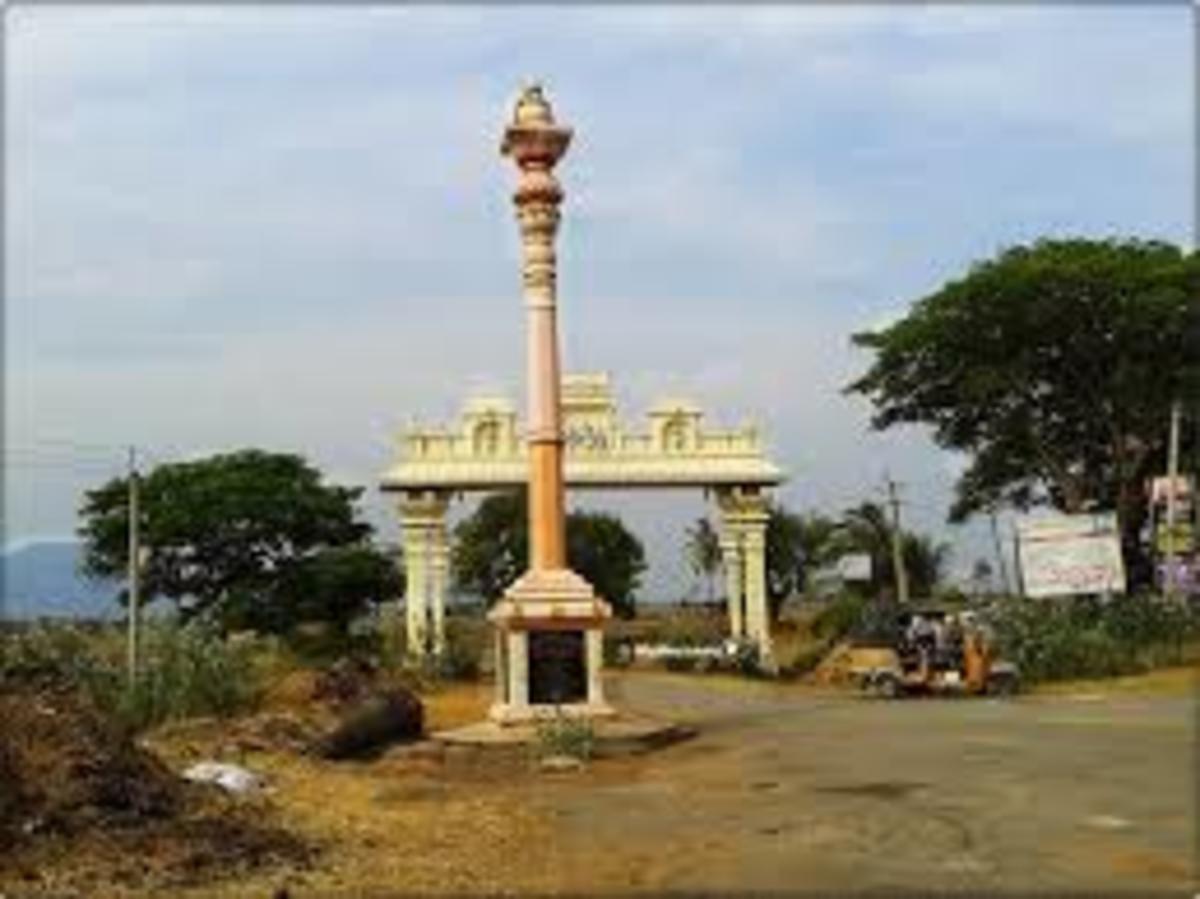 Sepulchre temple or Pallipadai of Aditya Chola near Kalahasti