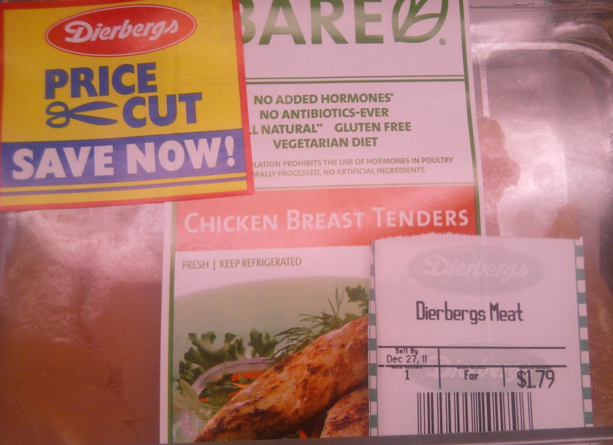 The labeling is amazing! It covers every aspect. This ad is from Dierberg's Market near St. Louis, Missouri in Dec 2011 at the unbelievable price of 79 cents/pound.