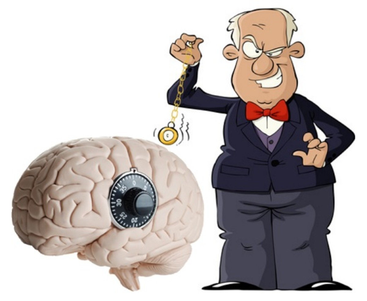 "Covert hypnosis is all about using scientifically established universal, and cleverly elicited individual ""lock combinations"" to unlock your listener's or reader's unconscious mind and begin talking directly to it, making him/her do what you suggest"