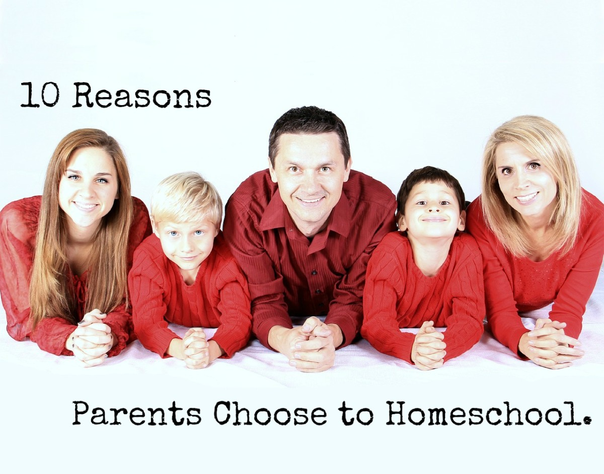 10 Reasons Parents Choose to Homeschool