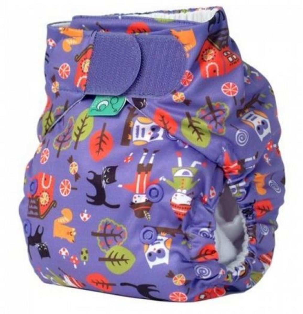Tots Bots Hansel and Gretel Print Diaper