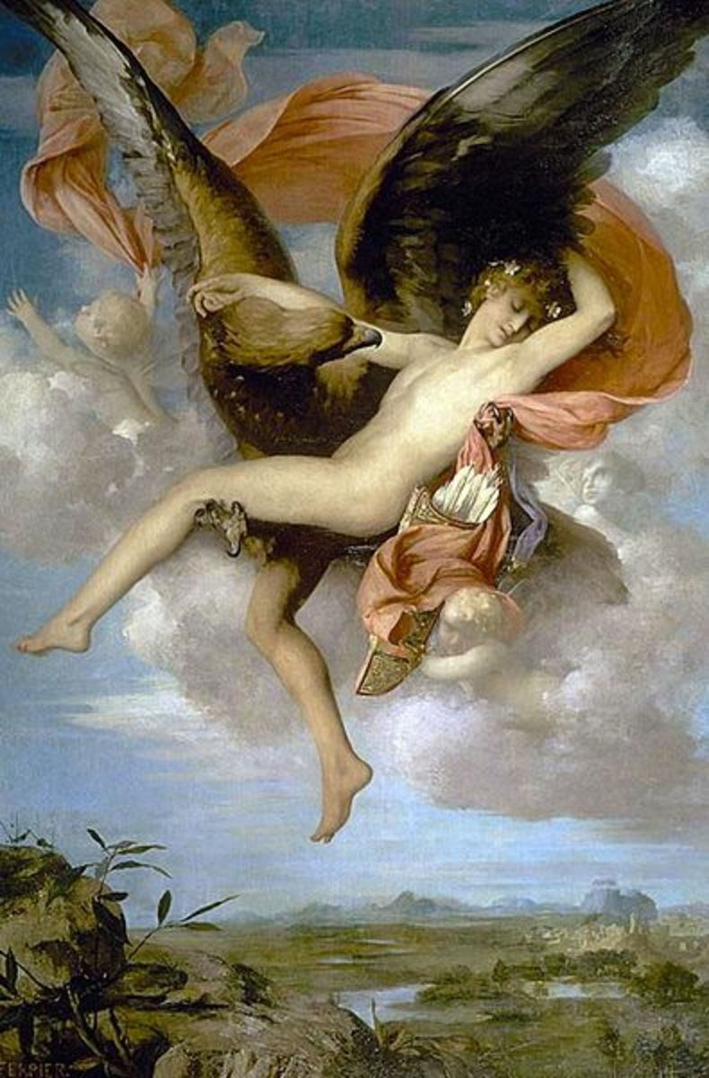 Image result for ganymede greek mythology