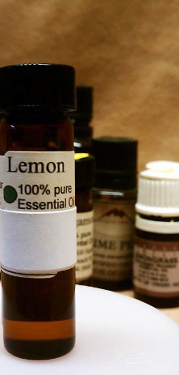 Citrus fruit essential oils like lemon can be obtained by steam distillation or cold-peel pressing.  Different extraction methods yield different results.