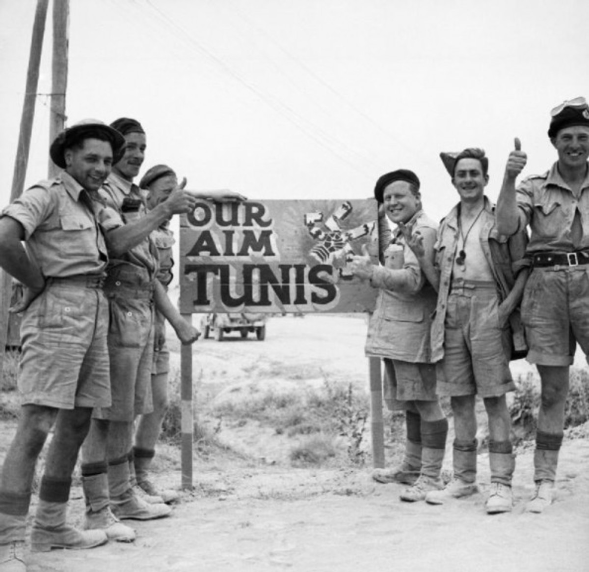 The Africa Korps meets it End in Tunisia