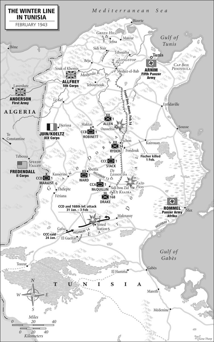 Tunisia the Winter of 1943