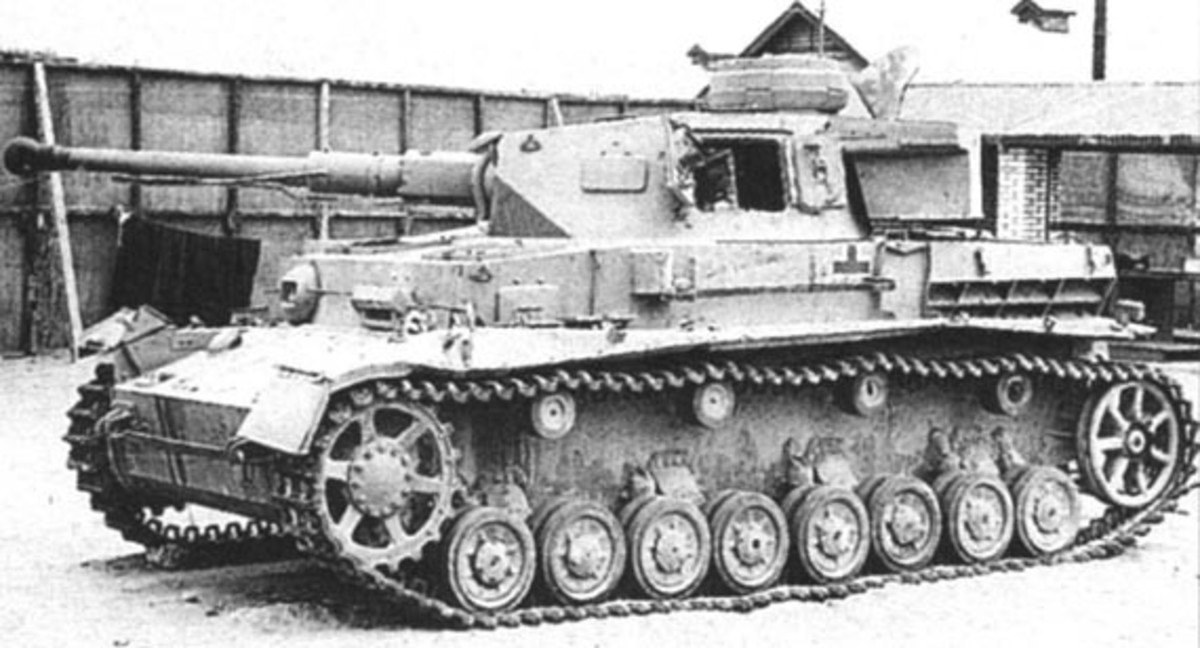 The German Mk IV tanks was the main battle tank in the Africa Korps tank divisions.
