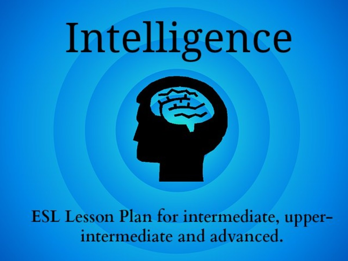 ESL/EFL Lesson Plan – Intelligence