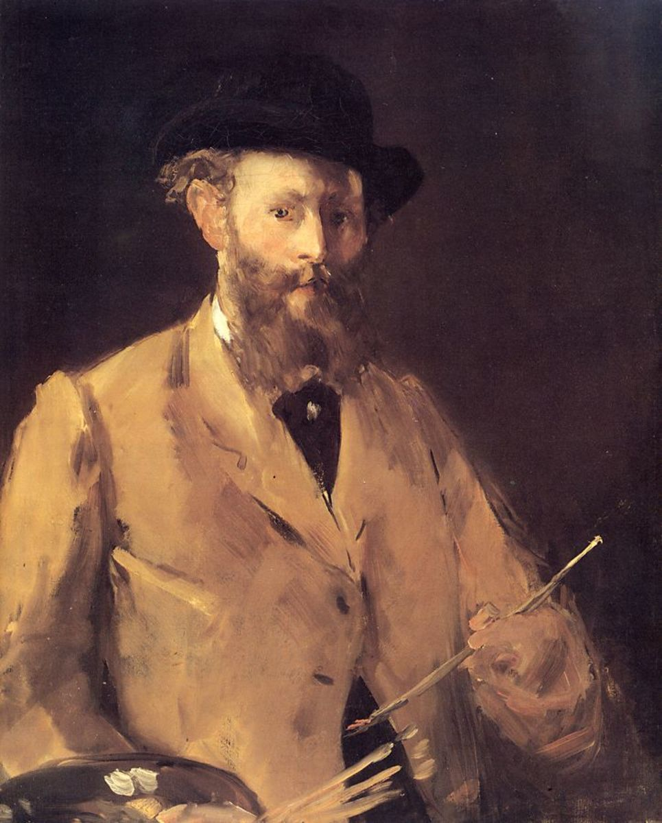 Edouard Manet's self portrait, painted in 1879