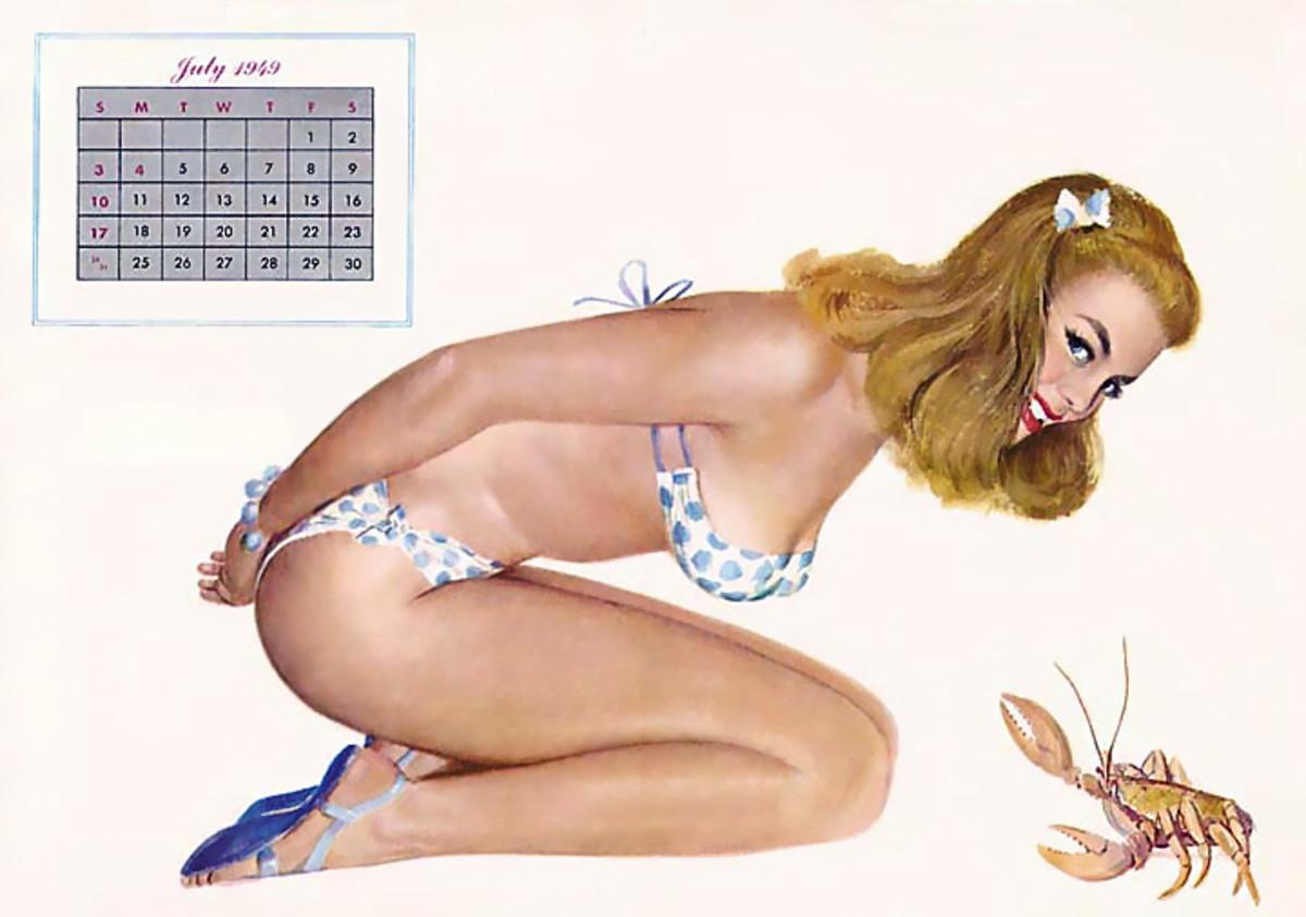 Pin up artist Alberto Vargas bikinis armchairgeneral.com