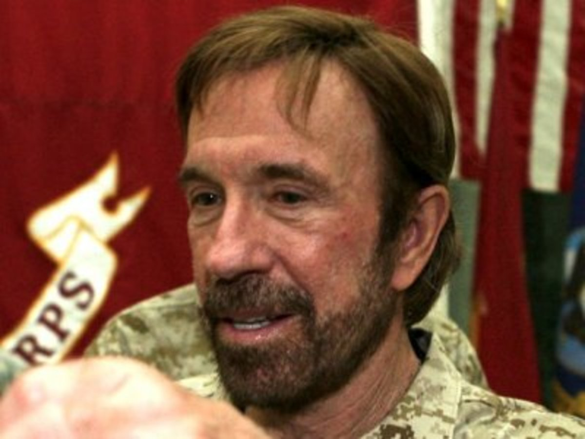 Chuck Norris can pee into the wind and not get wet.