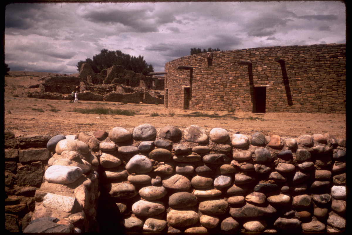 Aztec ruins are now preserved as part of the countries rich heritage