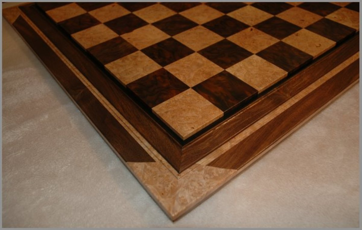 Enhance Your Chess Pieces with a Heirloom Custom Wood Chess Board