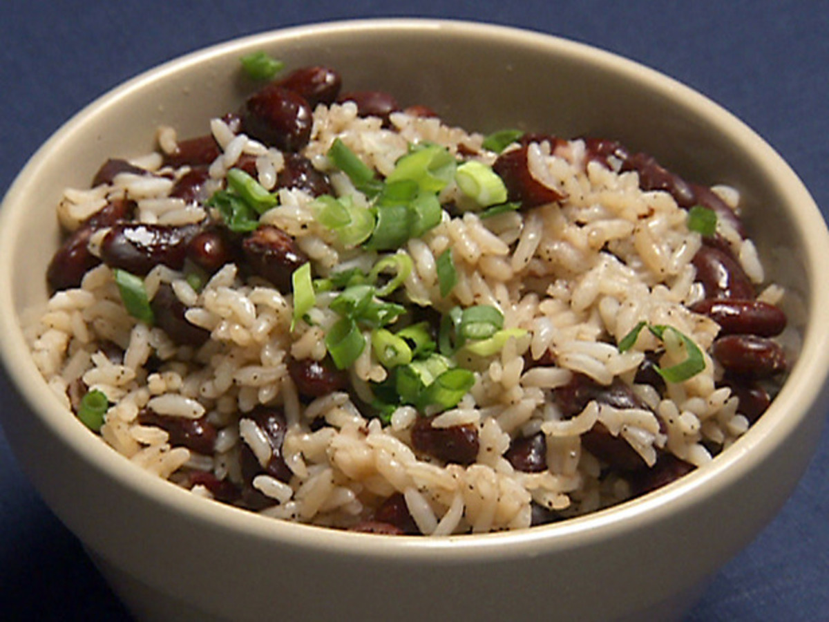 red bean rice   (courtesy of http://www.foodnetwork.com)
