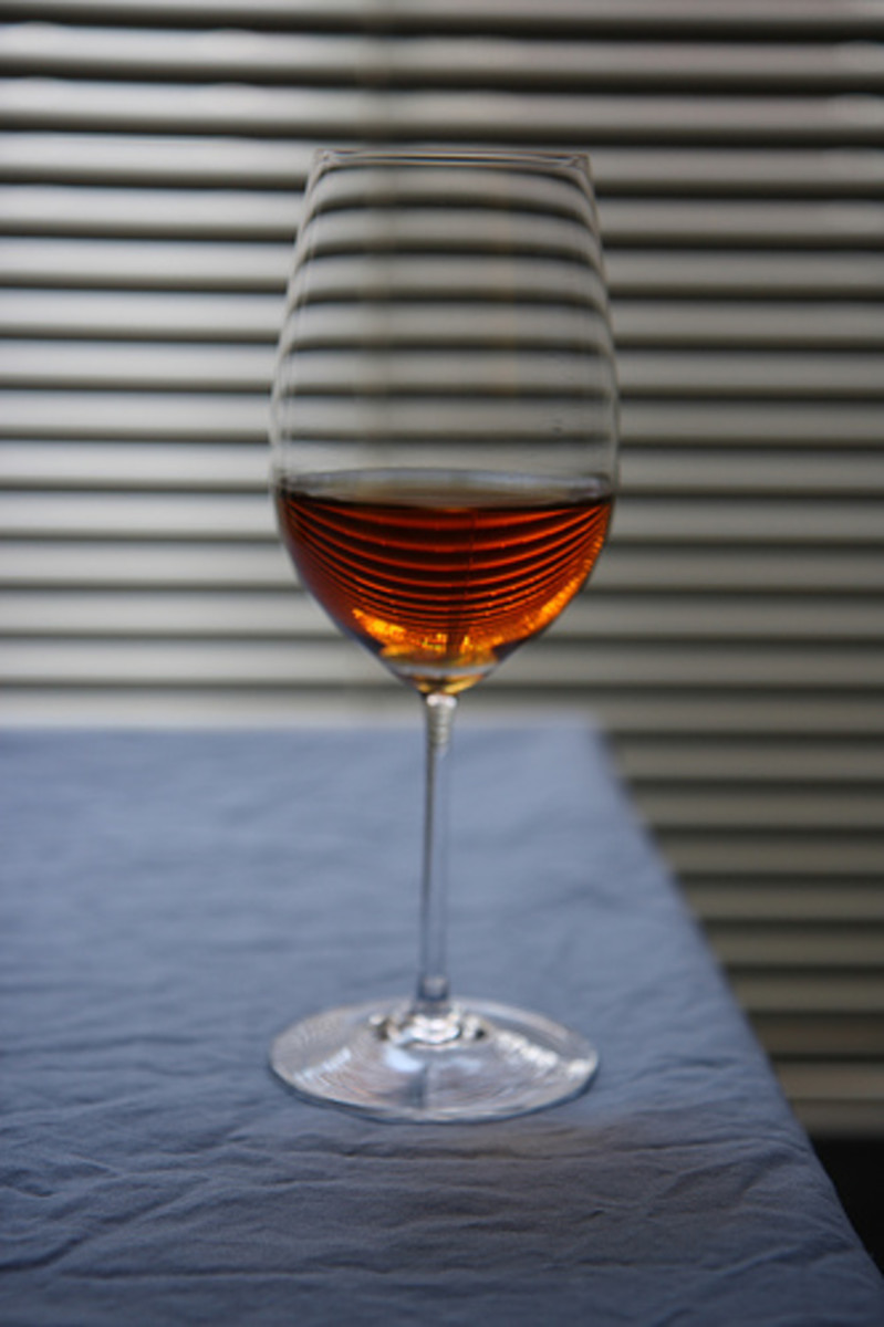 Chinese Rice Wine in Wine Glass (Photo courtesy by John Loo from Flickr.com)