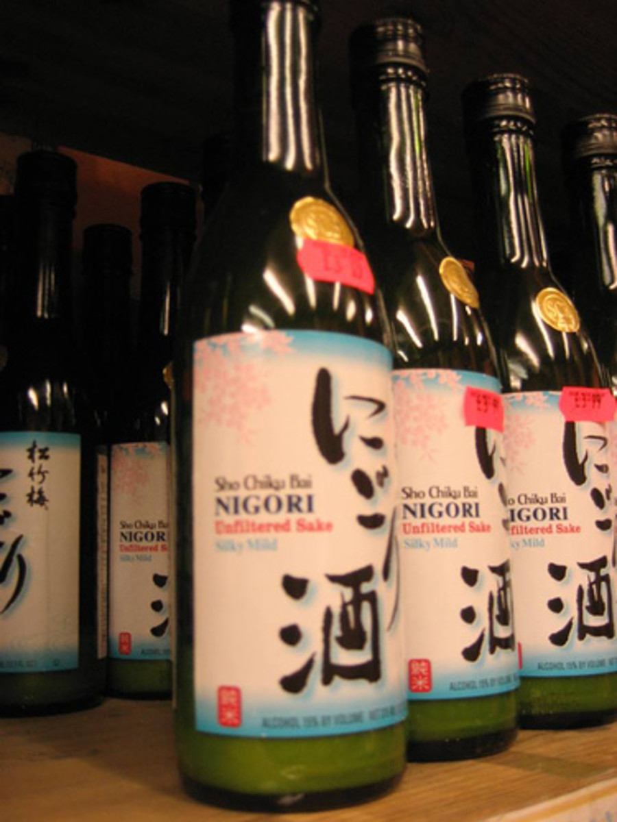 Nigori Rice Wine (Photo courtesy by Gilgongo from Flickr.com)