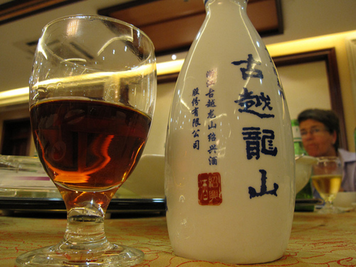 Shaoxing Hua Diao Wine (Photo courtesy by Bernt Rostad from Flickr.com)