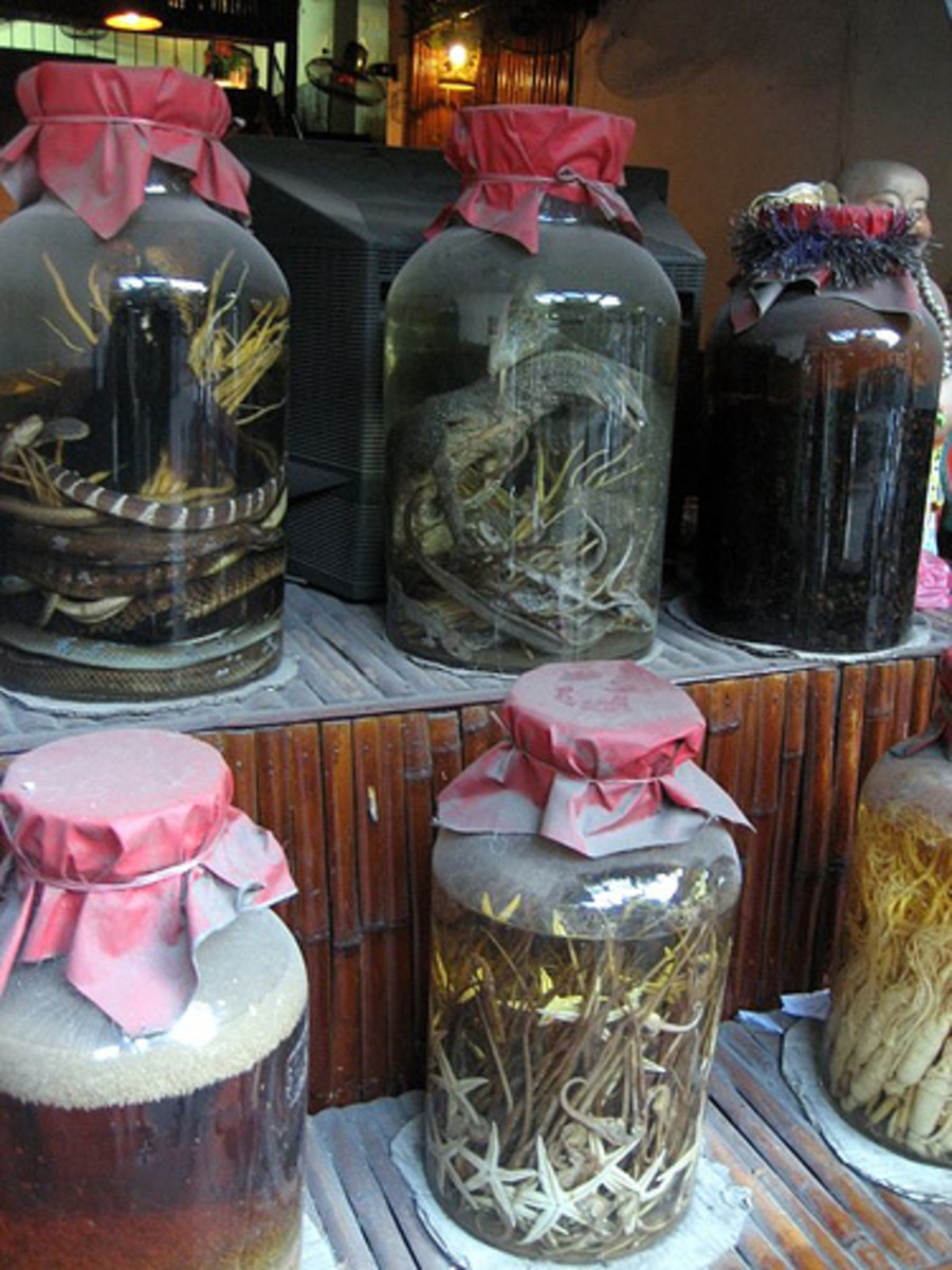 Exotic Rice Wines in Vietnam (Photo courtesy by A_of_DooM from Flickr.com)