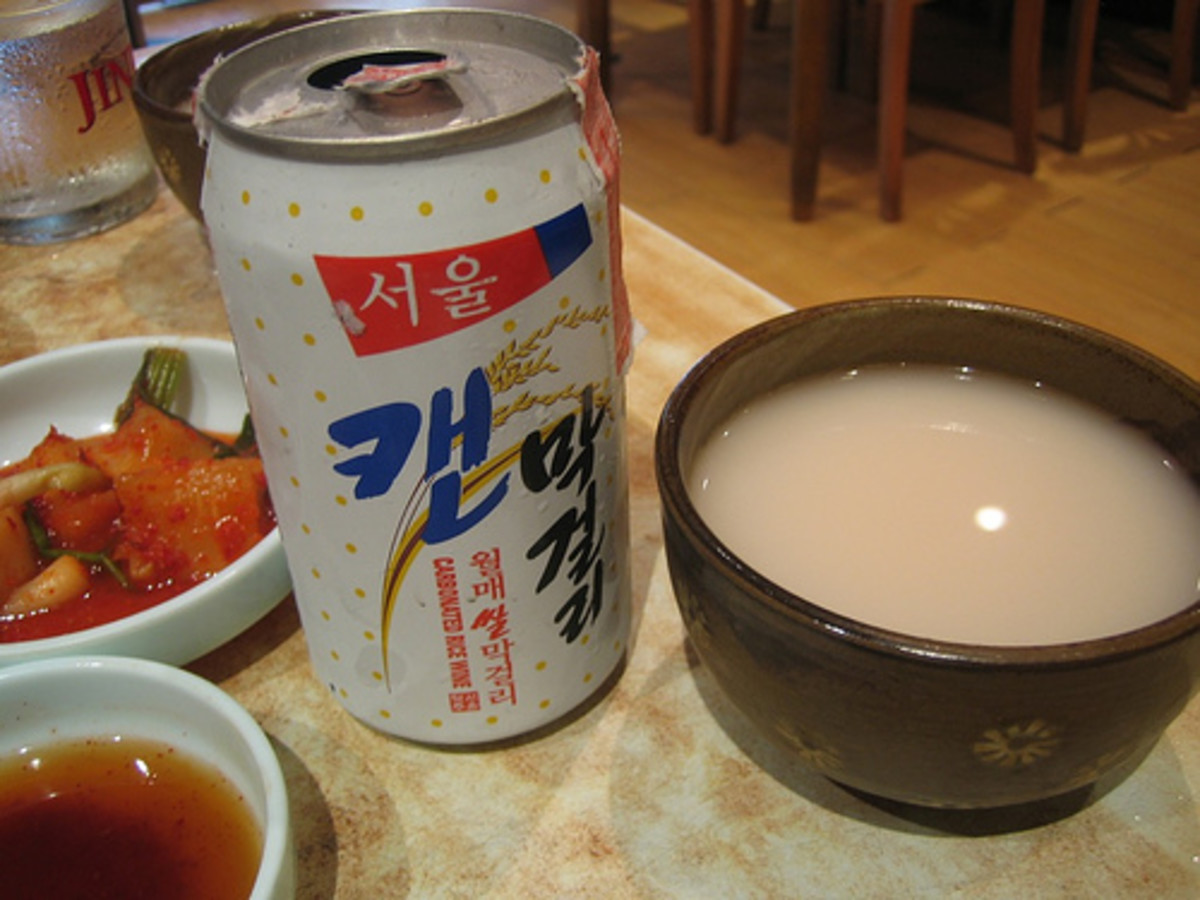 Rice Wine in Can (Photo courtesy by preetamrai from Flickr.com)