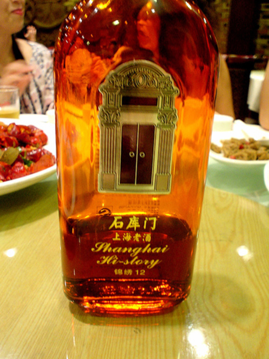 12-Year Old Rice Wine in Shanghai (Photo courtesy by perke from Flickr.com)