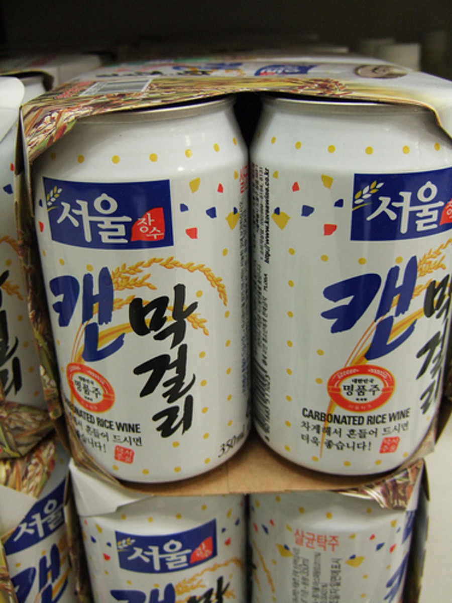 Carbonated Rice Wine (Photo courtesy by keizie from Flickr.com)