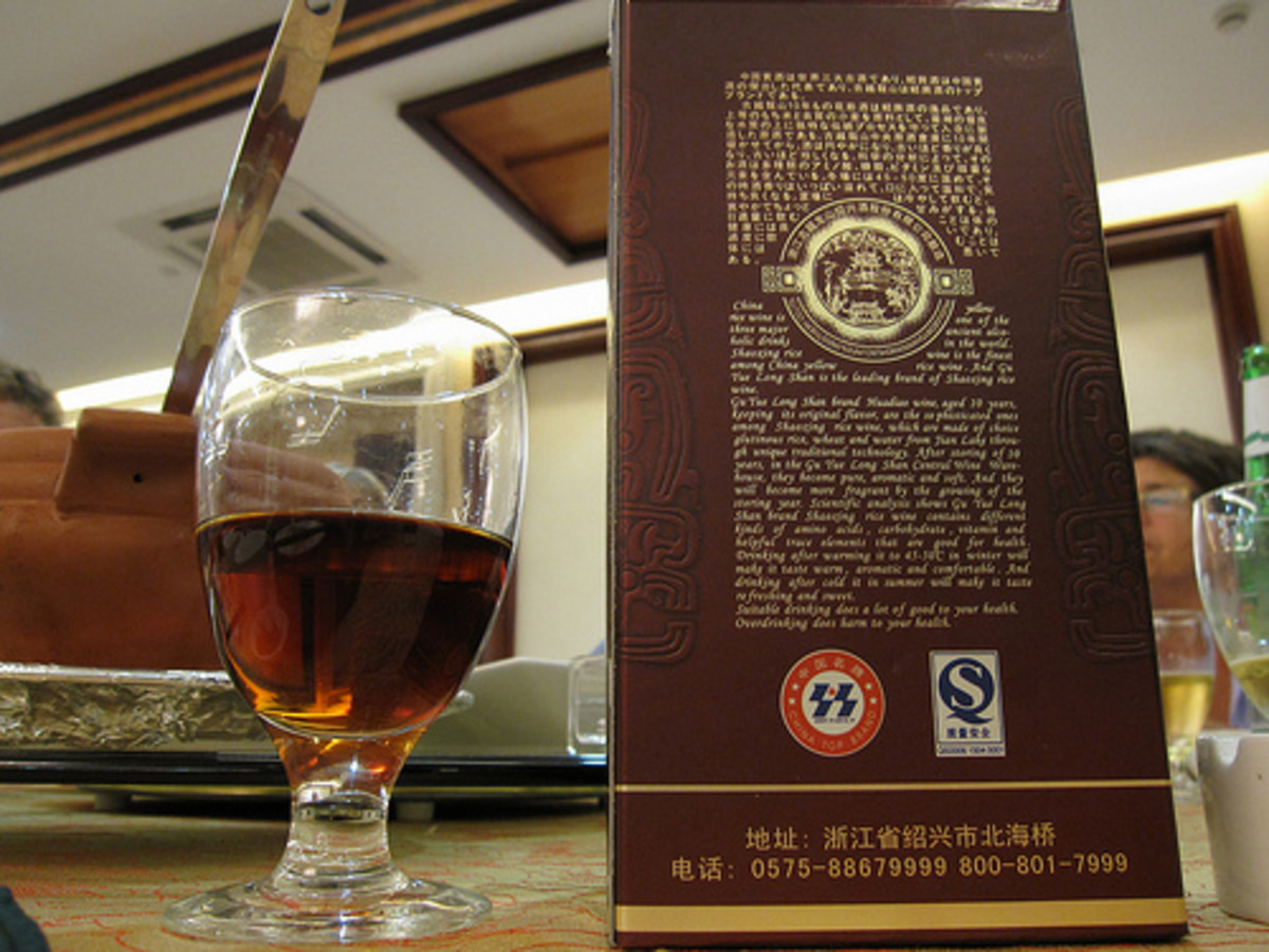 Shaoxing Hua Diao Wine in Box (Photo courtesy by Bernt Rostad from Flickr.com)