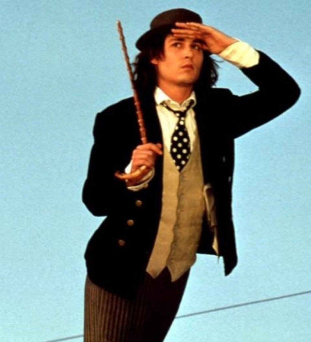 Dress Like Sam (Johnny Depp) from Benny and Joon