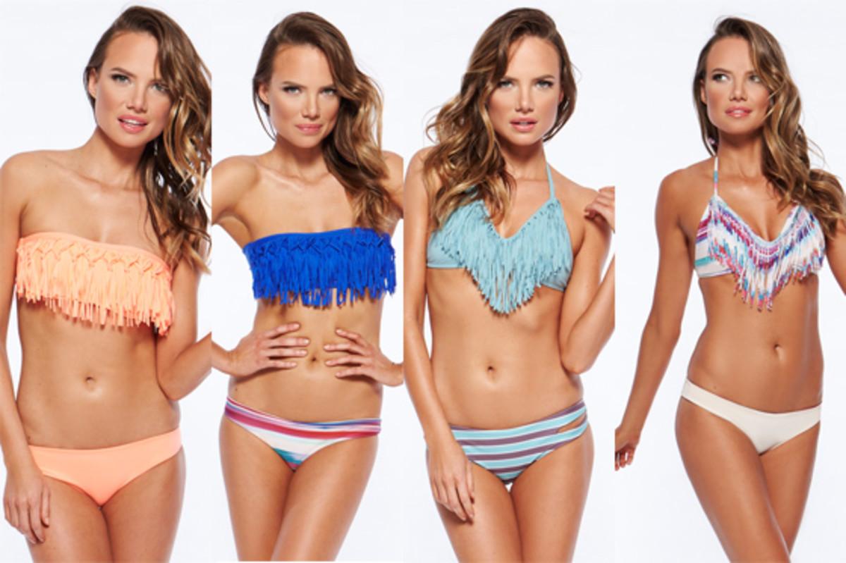 L*Space Fringe Bikinis - Spring 2015