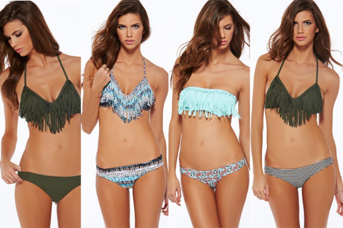 L*Space Fringe Bikinis - Summer 2015