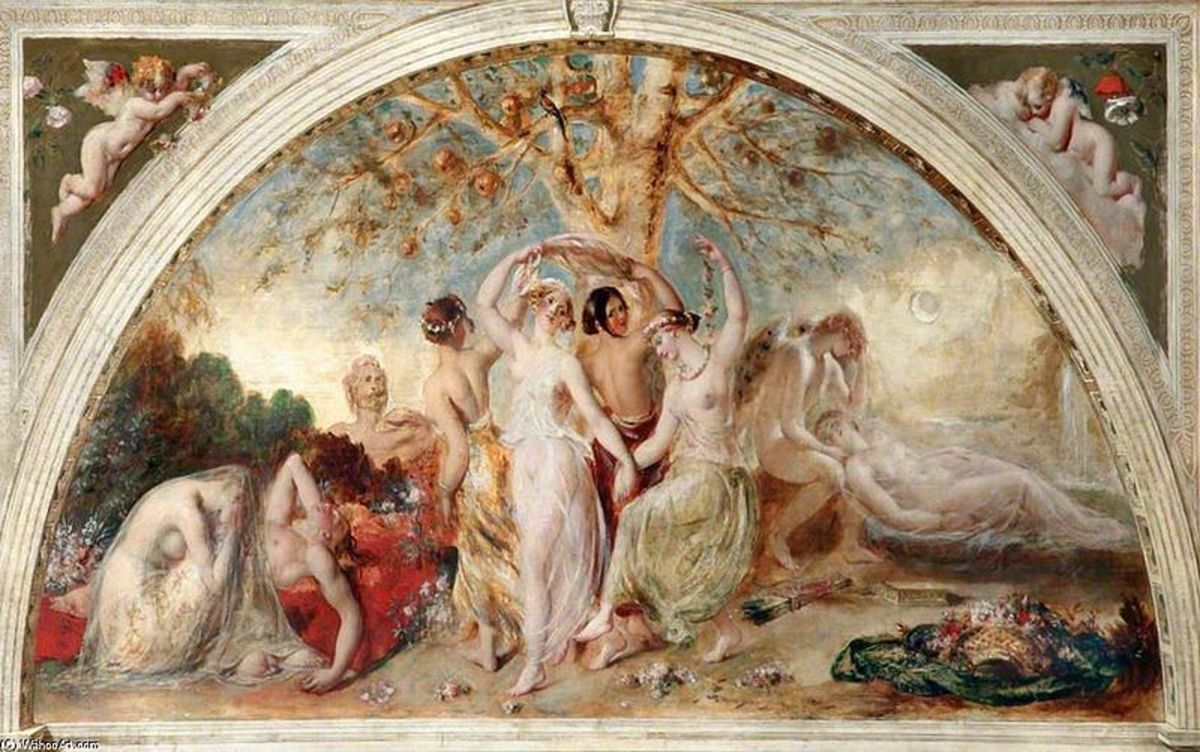 The Hesperides - William Etty (1787–1849) - PD-art-100