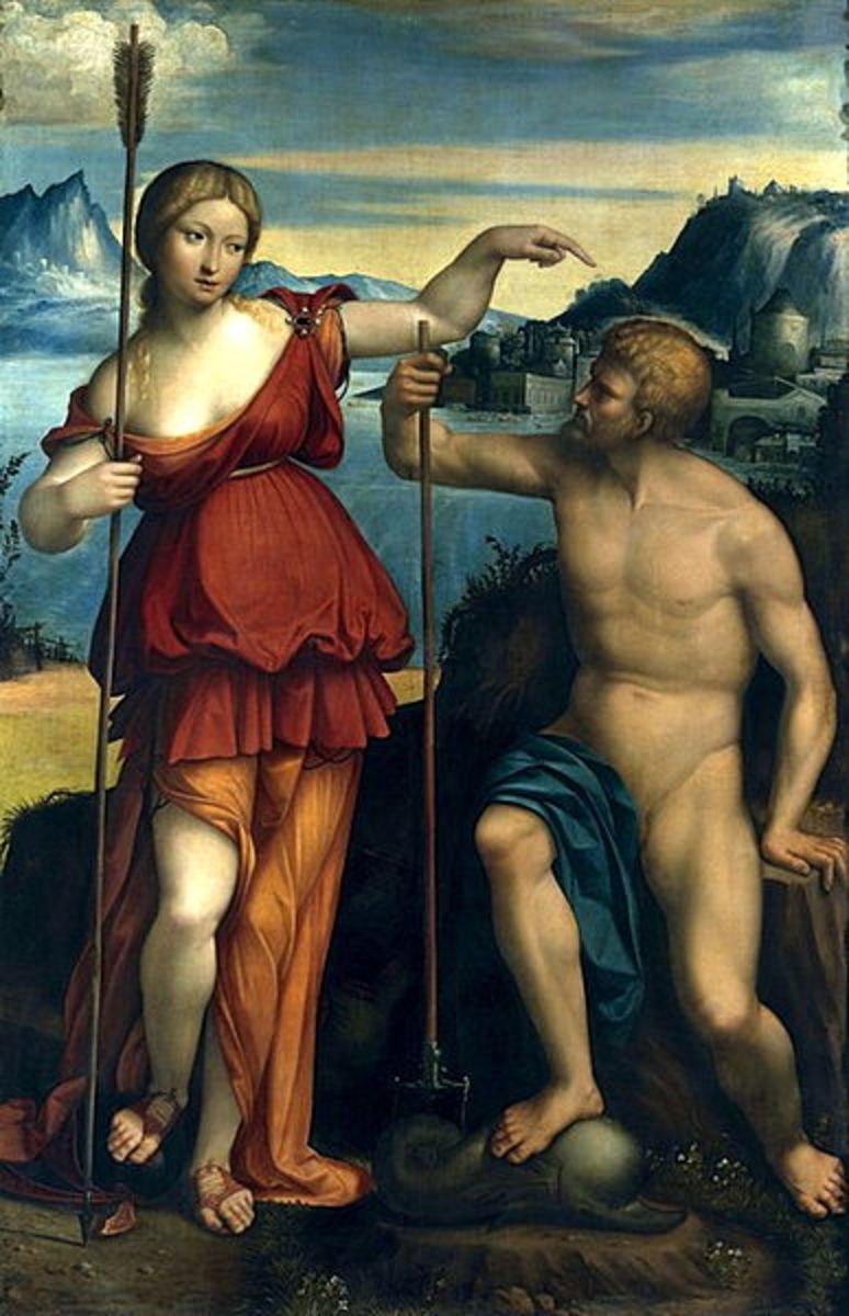 Benvenuto Tisi (1481–1559)  PD-art-100