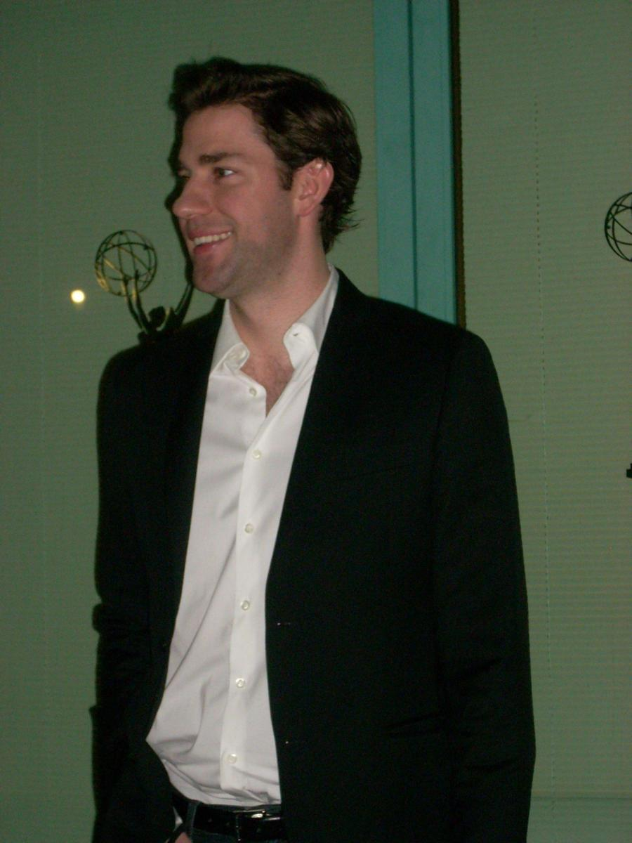 John Krasinski plays Jim Halpert on The Office.