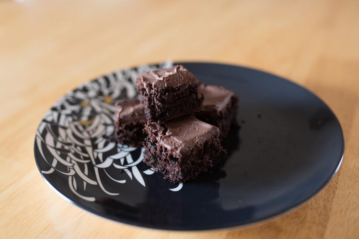 Tasty Slimming World half syn Chocolate Brownies