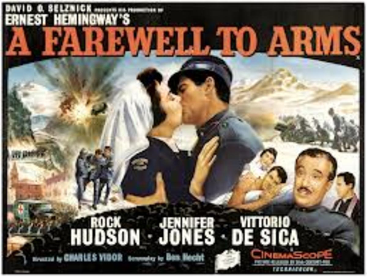 Movie poster: A Farewell to Arms