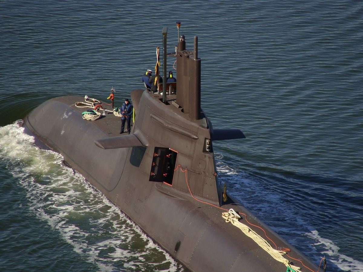 Class 212A German Submarine WW II